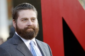 "Galifianakis poses at the premiere of ""The Hangover Part II"" at Grauman's Chinese theatre in Hollywood"