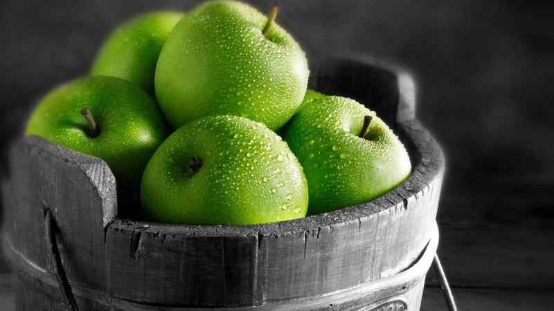 35245_food_green_wet_apples