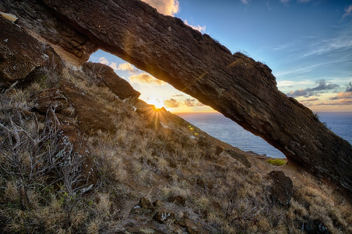 koko arch sunrise