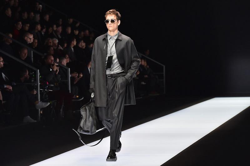 Emporio Armani - Runway - Milan Men's Fashion Week FW16