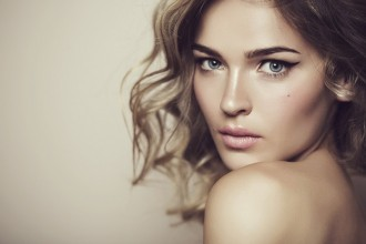 Beautiful woman with make up.