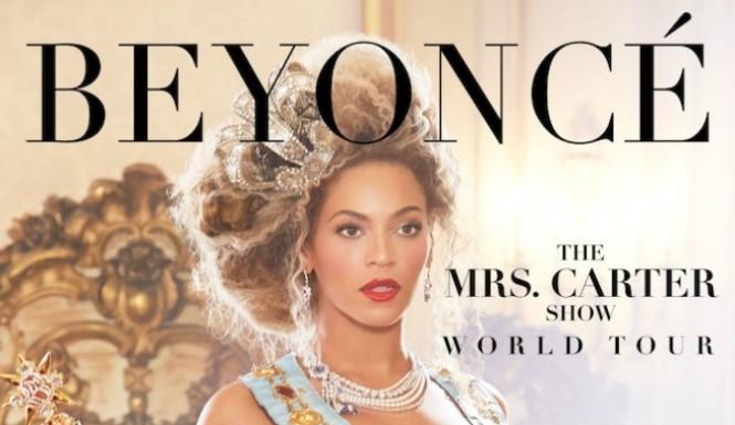 """Ξεκινησε την παγκοσμια περιοδεια του """"The Mrs. Carter Show"""" η Beyonce"""