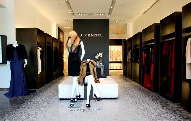 Το νεο καταστημα του οίκου J. Mendel στη Madison Avenue