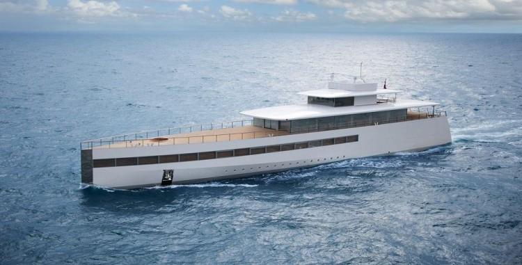 Venus: Το superyacht που ειχε παραγγειλει ο Steve Jobs